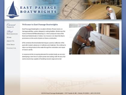 Cached version of East Passage Boatwrights
