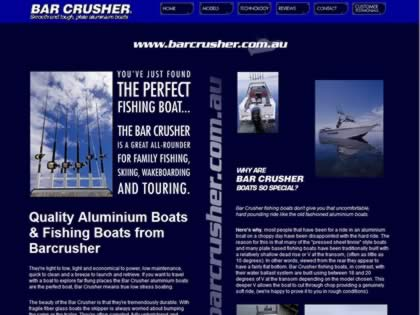 Cached version of Barcrusher Boats, Manufacturers of Plate Aluminium Boats, Australia