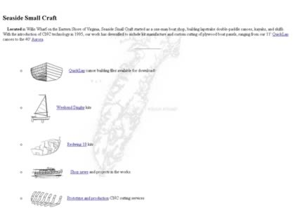 Cached version of Seaside Small Craft