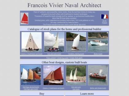 Cached version of Francois Vivier Naval Architect