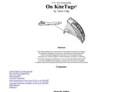 Cached version of KiteTugs