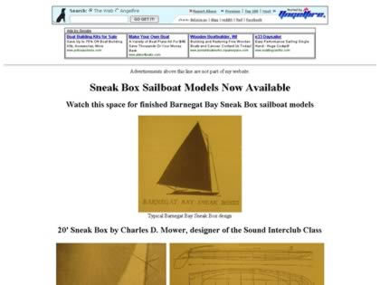 Cached version of Model Sailboats and Laser Cut Frames