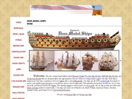 Cached version of Dens Model Ships