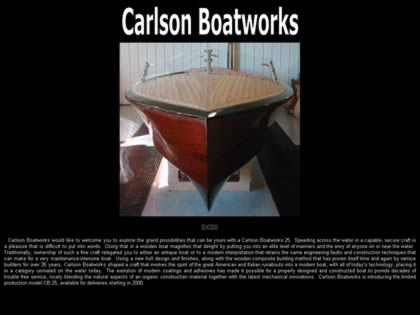 Cached version of Carlson Boatworks