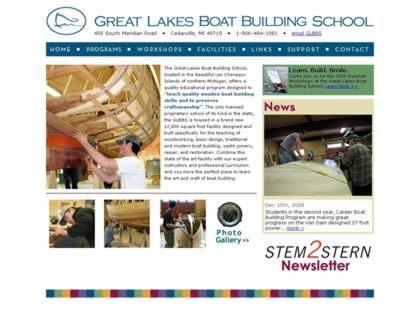 Cached version of Great Lakes Boat Building School