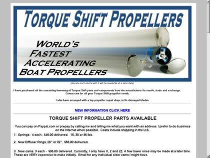 Cached version of Torque Shift Propeller Exchange