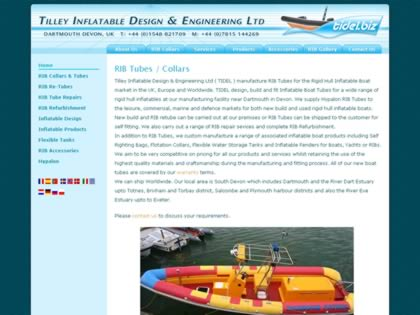 Cached version of Tilley Inflatable Design & Engineering Ltd