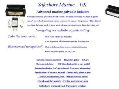 Cached version of Safeshore Marine Galvanic Isolators stop galvanic corrosion