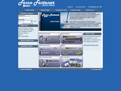 Cached version of Fasco Fastener