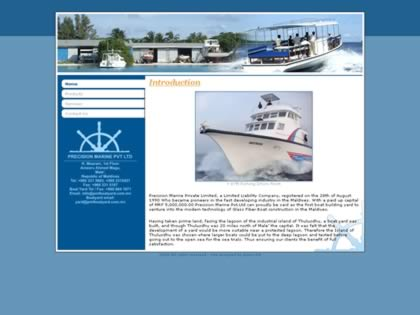 Cached version of Precision Marine Pvt. Ltd.,