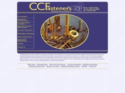 Cached version of Clark Craft Fasteners