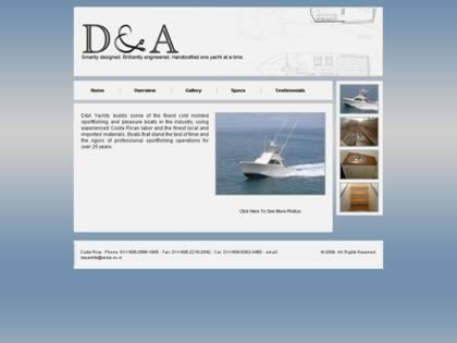 Cached version of D & A  Yachts s.a.