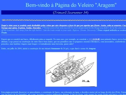 Cached version of Aragem Trimaran Home Page