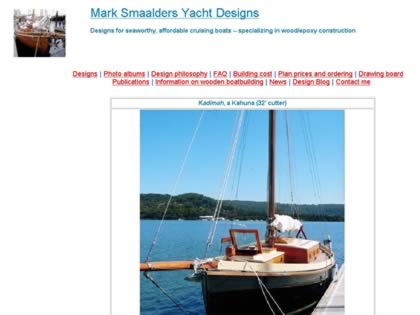 Cached version of Mark Smaalders Yacht Designs