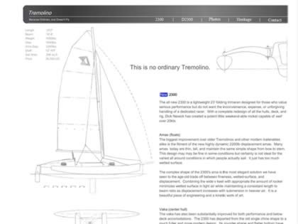 Cached version of The Tremolino Boat Company