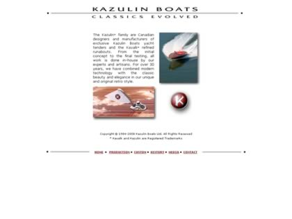 Cached version of Kazulin Boats Ltd.