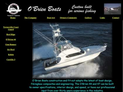 Cached version of O'Brien Boats