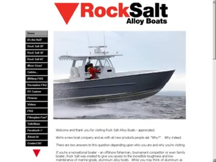 Cached version of Rock Salt Alloy Boats