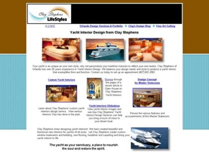 Cached version of Clay Stephens - Florida Custom Yacht Interior Designer