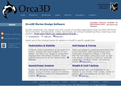Cached version of Orca3D