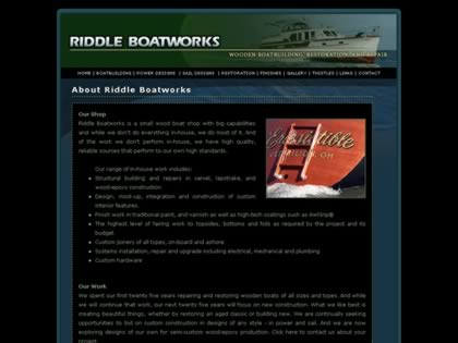 Cached version of Riddle Boatworks