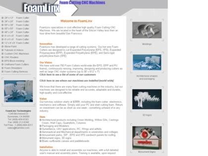 Cached version of Foamlinx LLC