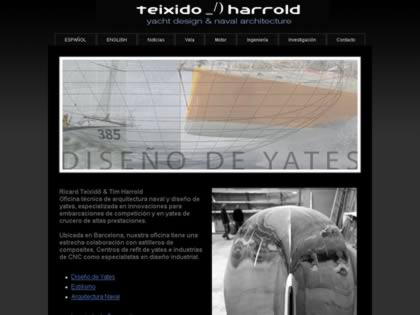 Cached version of Ricard Teixido_/)Tim Harrold yacht design