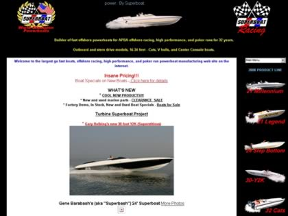 Cached version of Superboat Powerboats