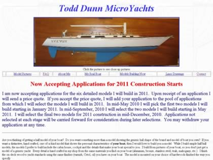 Cached version of Todd Dunn MicroYachts