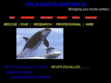 Cached version of Orca Boats Australia