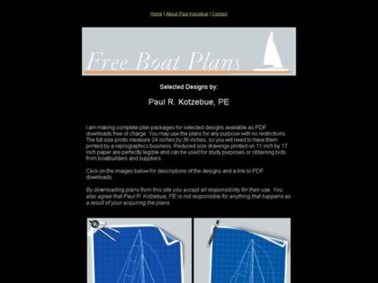 Cached version of Free Sailboat Plans