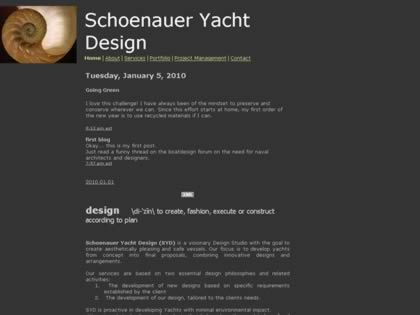 Cached version of Schoenauer Yacht Design