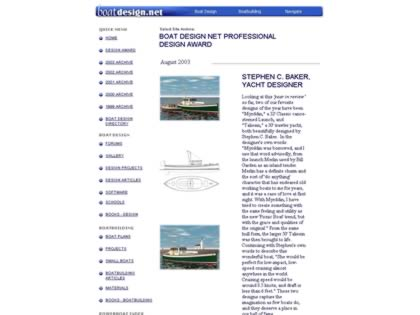 Cached version of Boat Design Site Awards