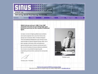 Cached version of Sinus Ltd