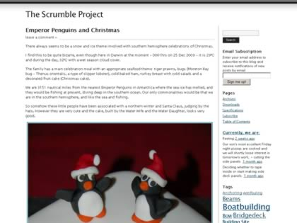 Cached version of The Scrumble Project