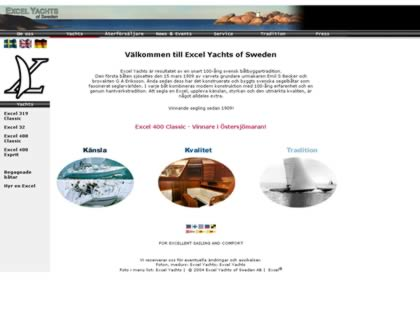 Cached version of Excel Yachts of Sweden