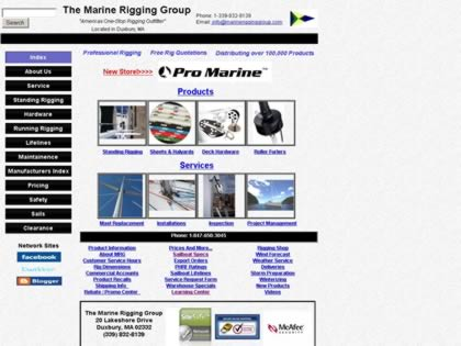 Cached version of The Marine Rigging Group