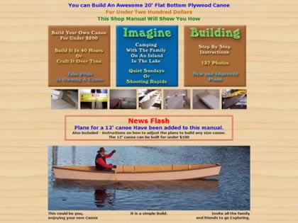 Cached version of A Flat Bottom Canoe Builders Manual