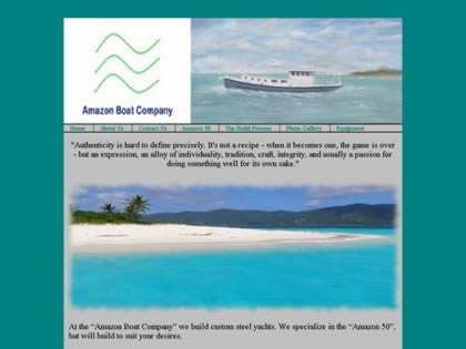 Cached version of Amazon Boat Company