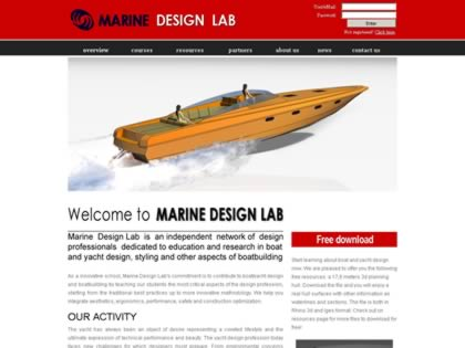 Cached version of Marine Design Lab