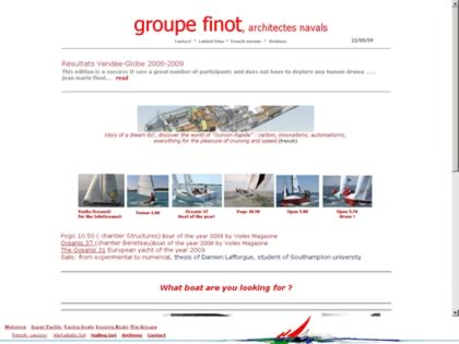 Cached version of Groupe Finot.