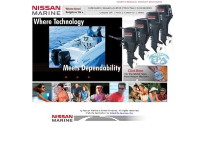 Cached version of Nissan Marine