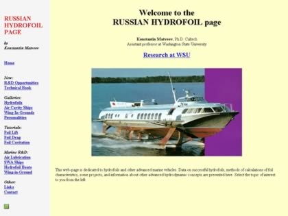 Cached version of Russian Hydrofoil Page