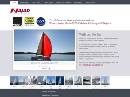 Cached version of Najad Yachts