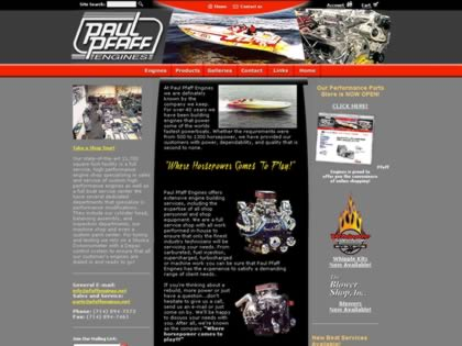 Cached version of Paul Pfaff Racing Engines