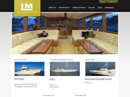 Cached version of Lyman-Morse Boatbuilding