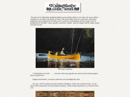 Cached version of Adirondack Guide Boat