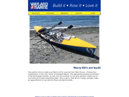 Cached version of Wayland Marine