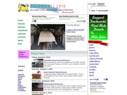 Cached version of Duckworks Magazine