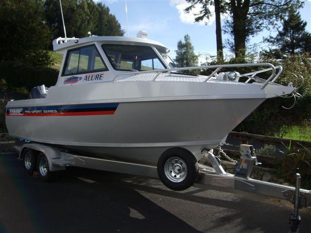 Amf 660 Hardtop Cabin Enclosed Amf Alloy Trailer Boat Design Net